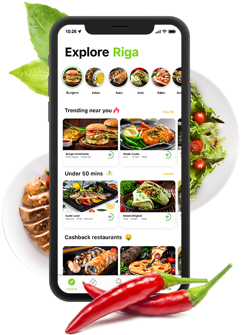 #1 Food delivery system in market